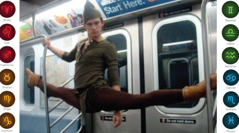 Zodiac Signs Exemplified By Crazy People On The Subway